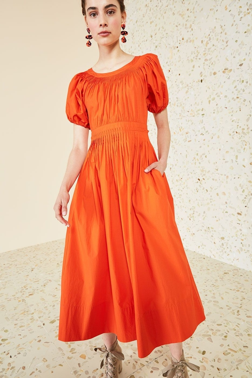 Ulla Johnson Gallia Dress in Paprika Dresses