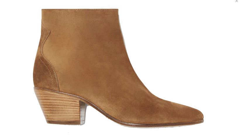 Isabel Marant Étoile Dacken Ankle Boots in Cognac Shoes