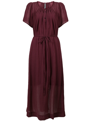 Raquel Allegra Flutter Maxi Dress in Gar Dresses