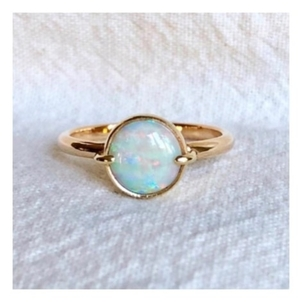 Fig. 7 14k Opal Ring(sold) Jewelry