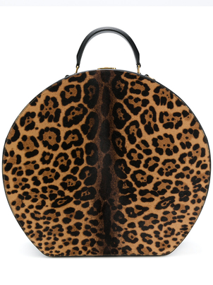 Saint Laurent Mica Hat Bag in Leopard Bags Sale