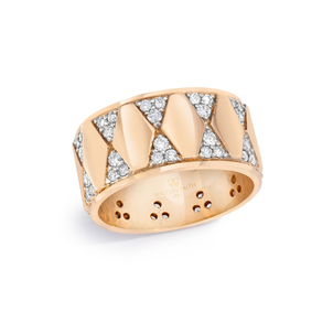 Walters Faith Diamond Hexagon Cigar Band Jewelry