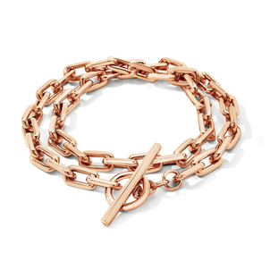 Walters Faith Double Wrap Chain Link Toggle Bracelet Jewelry