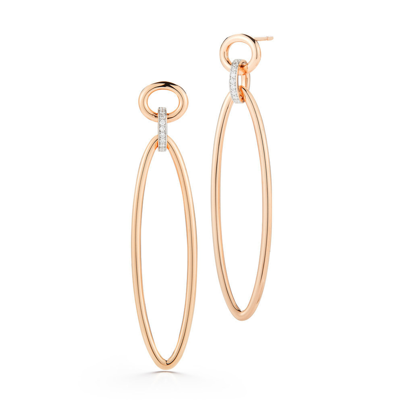 Walters Faith Diamond Link Earrings Jewelry