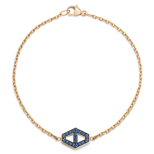 Walters Faith Sapphire Hexagon Bracelet Jewelry