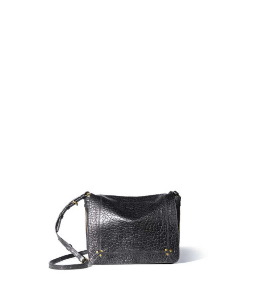 Jerome Dreyfuss Igor Shoulder Bag - Bubble Lambskin Noir Bags