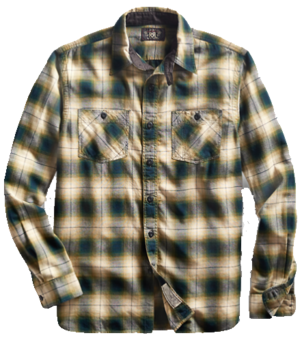 RRL HICKORY WORKSHIRT Men's