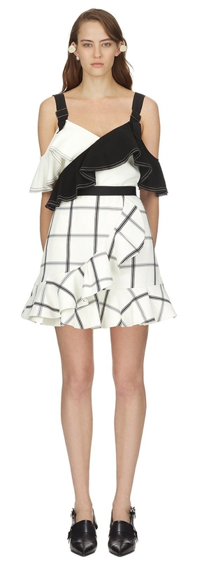 Self-Portrait Monochrome Skirt Skirts