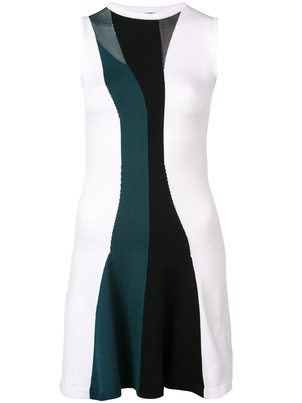 Cushnie et Ochs Sleeveless Flare Mini Dress Dresses