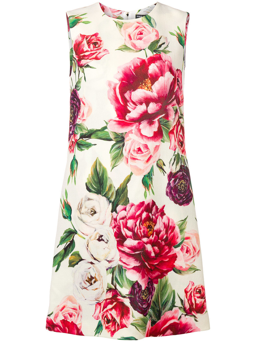 Dolce & Gabbana Floral Shift Dress Dresses