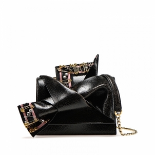 N°21 Black Bow Bag Small Bags