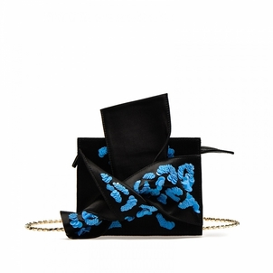 N°21 Black Belt Bow Bag Bags