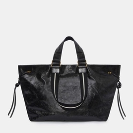 Wardy Patent-Leather Tote