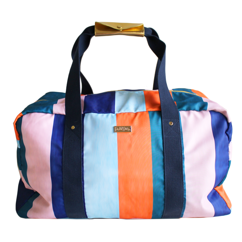 Packed Party Striped Gym Bag Bags