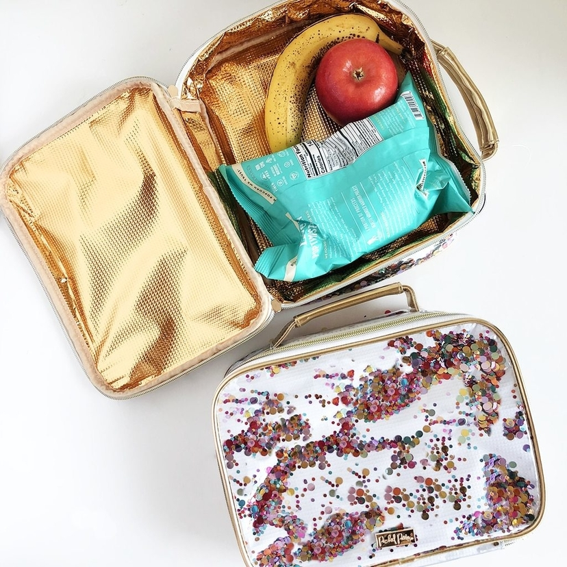 Packed Party Confetti Lunch Box Bags