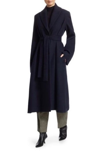 The Row THE ROW DRANNER COAT NAVY Outerwear