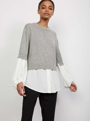 Brochu Walker Ebele Layered Crew Tops