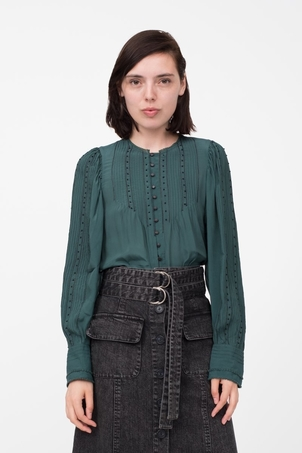Sea Azzedine Blouse Forest Tops