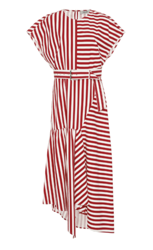 Rachel Comey Belted Striped Dress Dresses