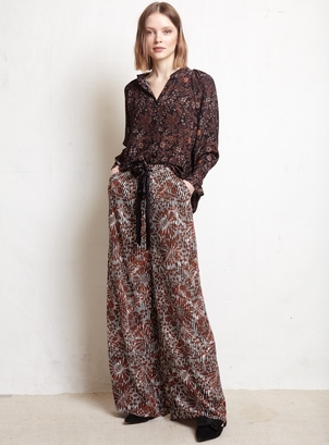 Warm Francesca Blouse(sold) + Pickford Pant Pants Tops