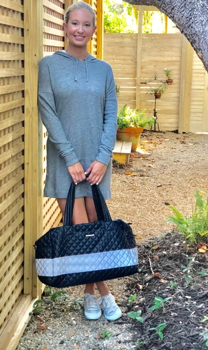 MZ Wallace MZ Wallace Quilted Duffle Bag Bags