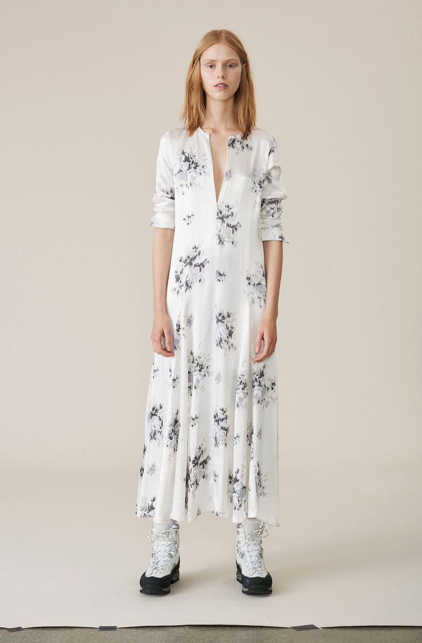 Ganni Cameron Maxi Dress Dresses