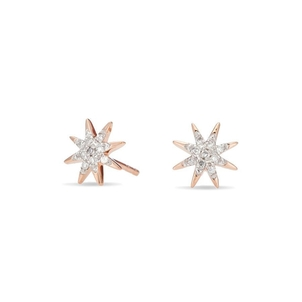 Adina Reyter Solid Pave Starburst Posts Jewelry