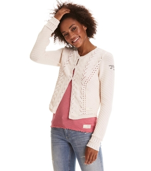 Odd Molly Sweep Around Short Cardigan Tops