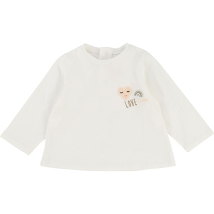 Chloé TSHIRT W/ EMBROIDERED PATCHED