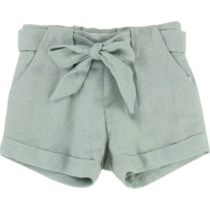 Chloé LUREX TWEED SHORTS W/ BOW AND POCKETS