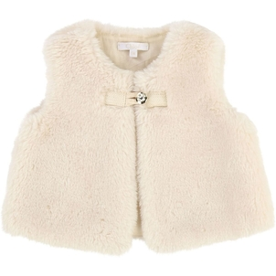 Chloé BABY SLEEVELESS CARDIGAN