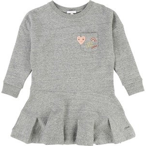Chloé GIRL FLEECE DRESS W/ CHEST POCKET