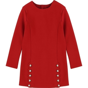 Chloé MILANO DRESS W/ SCALLOP DETAIL AND BUTTONS