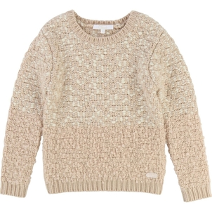 Chloé GIRL SWEATER W/ FANCY AND LUREX THREAD