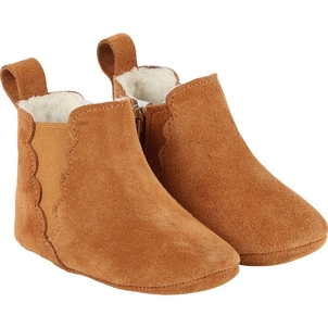 Chloé NEWBORN LEATHER ANKLE BOOTIES