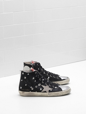 Golden Goose Deluxe Brand Golden Goose canvas 'Francy' hitops Shoes