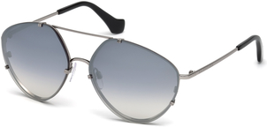 Balenciaga Mirrored Aviator Sunglasses Accessories