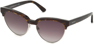 Balenciaga Semi Rimless Cat Eye Sunglasses Accessories