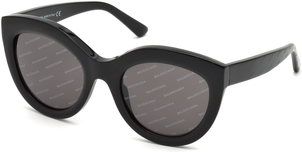 Balenciaga Logomania Rounded Sunglasses Accessories