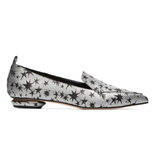 Nicholas Kirkwood Star Jacquard Beya Loafer Shoes
