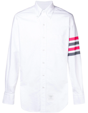 Thom Browne CLASSIC LONG SLEEVE 4 BAR OXFORD Men's