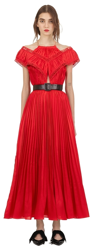 Self-Portrait off-shoulder maxi dress Dresses