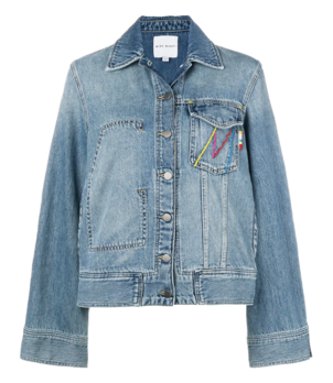 Mira Mikati Denim Jacket Outerwear