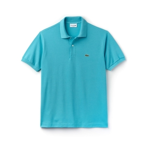 Lacoste Classic Fit Polo in Turquoise Tops