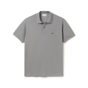 Lacoste Classic Fit Polo in Gray Tops
