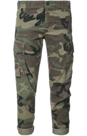 RE/DONE Camo Cargo Pants Pants