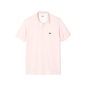 Lacoste Classic Fit Polo in Flamingo Pink Tops