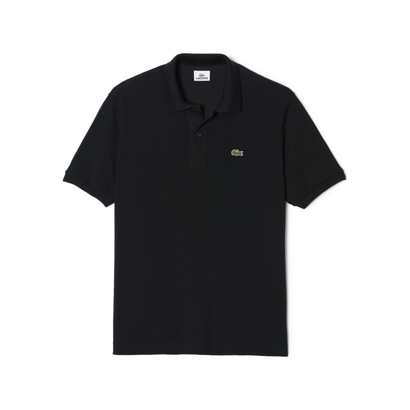 Lacoste Classic Fit Polo in Black Tops