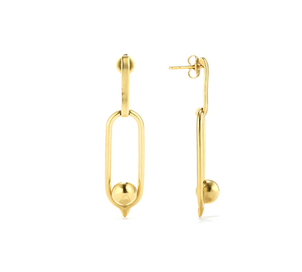 Goossens Paris Goossens Paris - Boucle 24k Minimalist earrings Accessories Jewelry