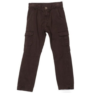 BONTON Trousers Cargo Brown Ebony